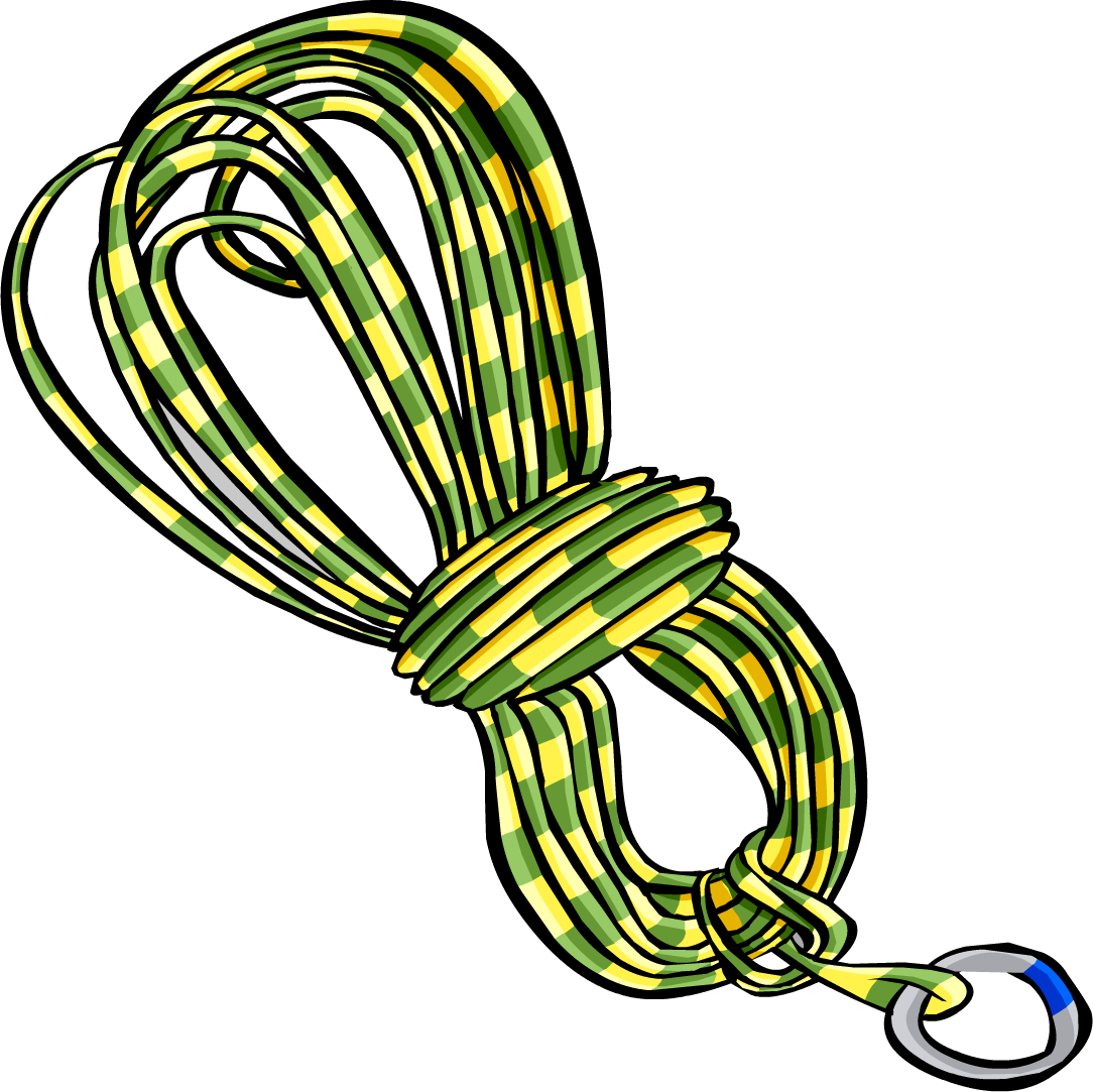 Hike clipart mountain climber. Yellow climbing rope club