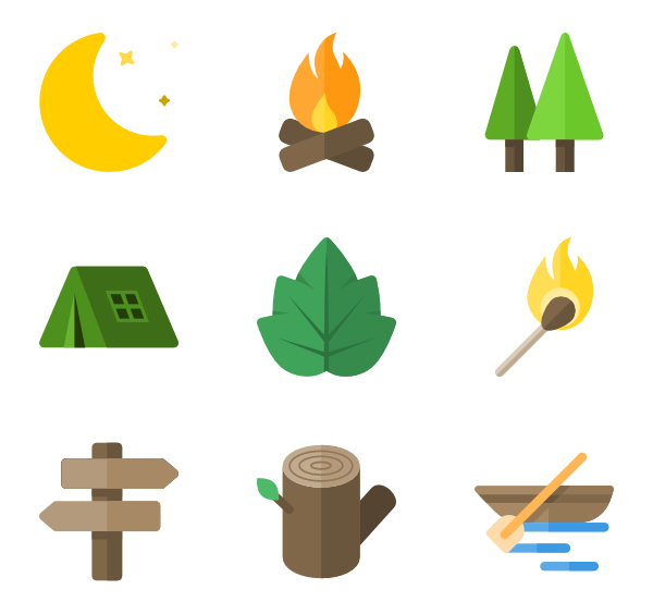 Hiking icons free vector. Hiker clipart family hike