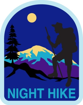 . Hike clipart night hike