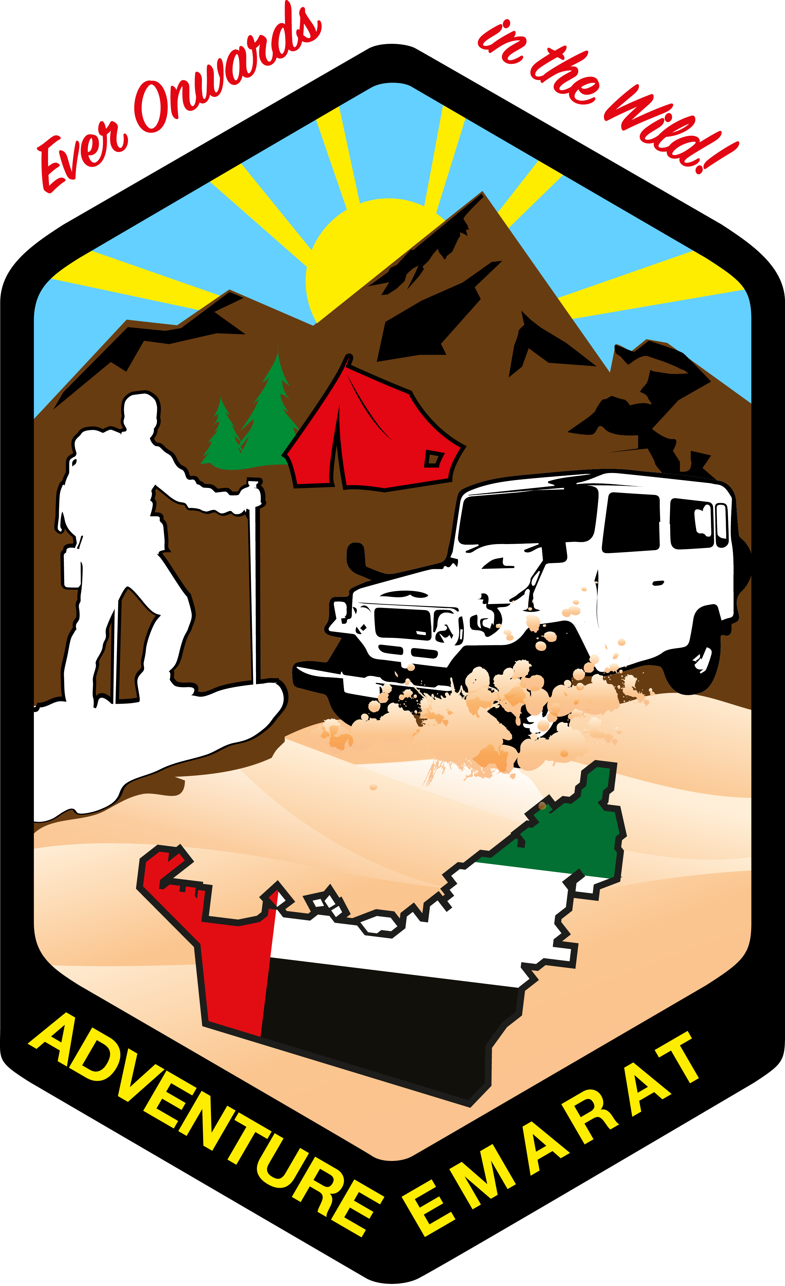 Hike clipart night hike. Oman overnighter and to