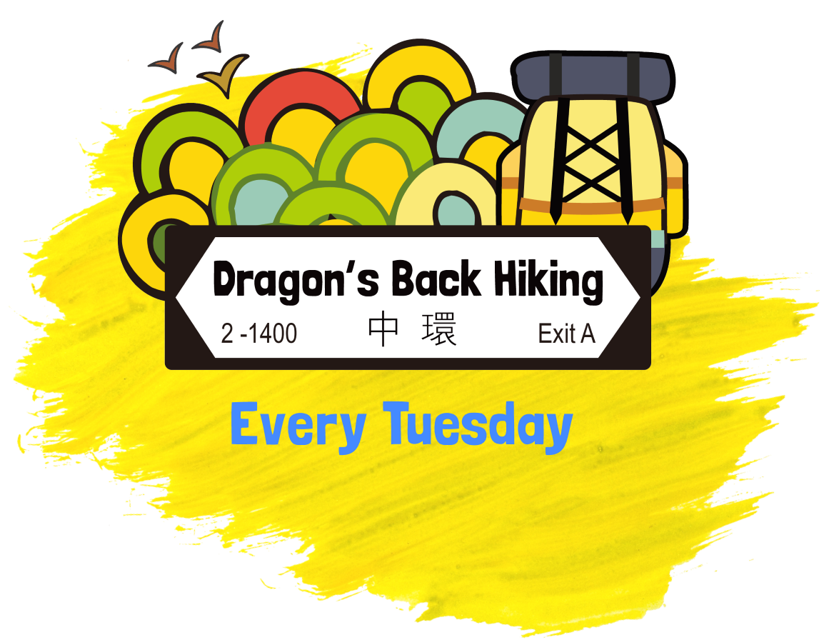 Dragon s back hiking. Hike clipart rural tourism
