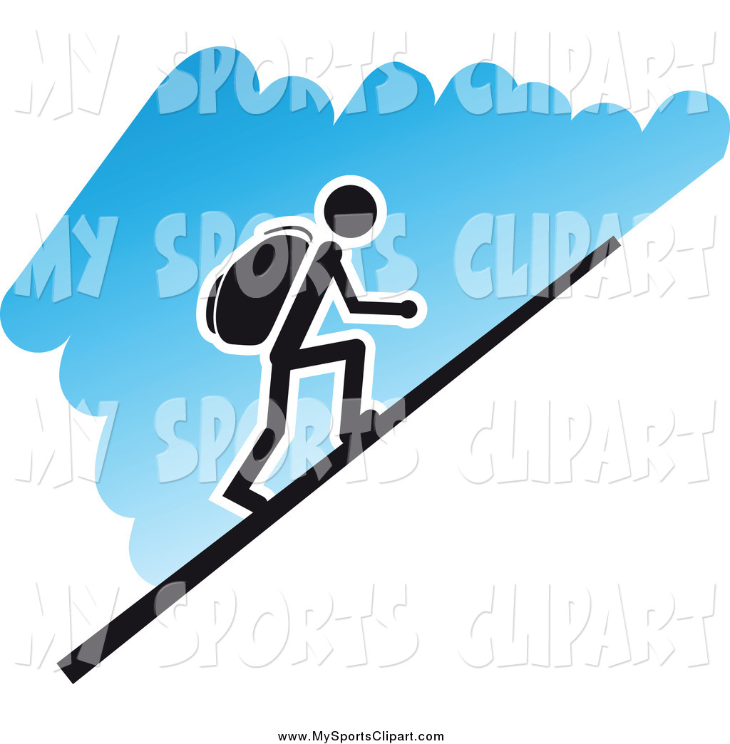 Hiker free download best. Hiking clipart steep hill