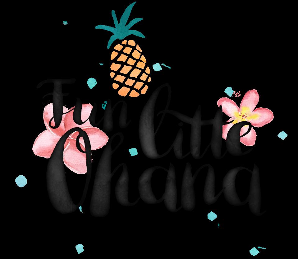 Little ohana hawaii with. Hike clipart summer fun kid