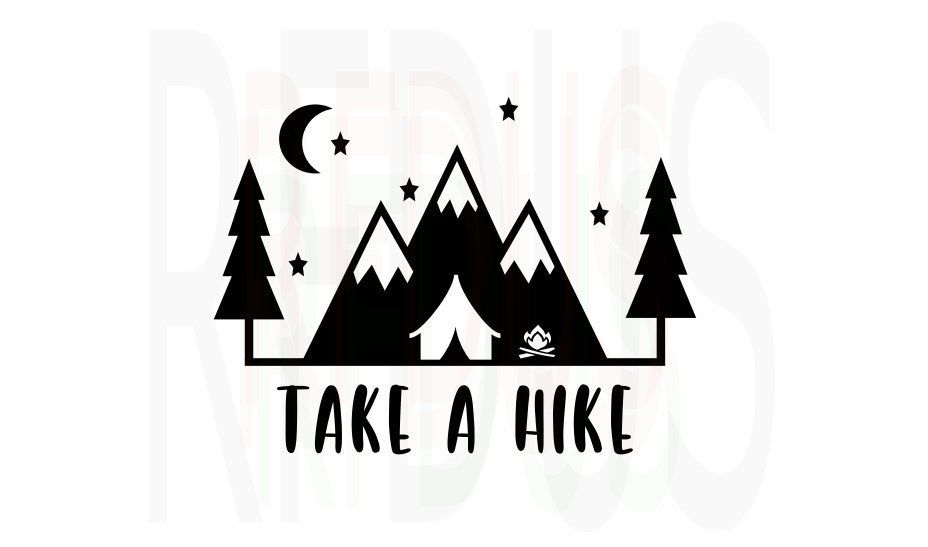 Hike clipart svg. Take a never stop