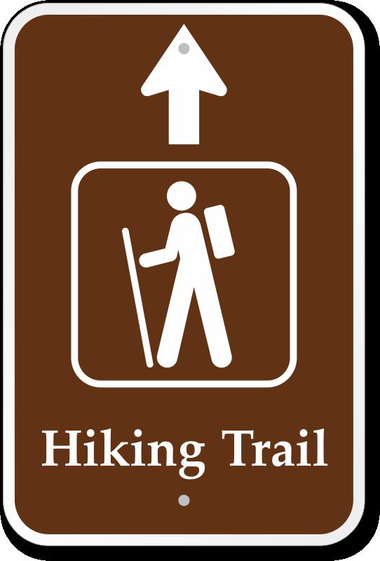 trail clipart trail sign