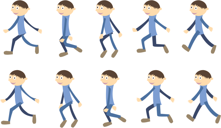 Index of exercises vocabulary. Hike clipart walking group