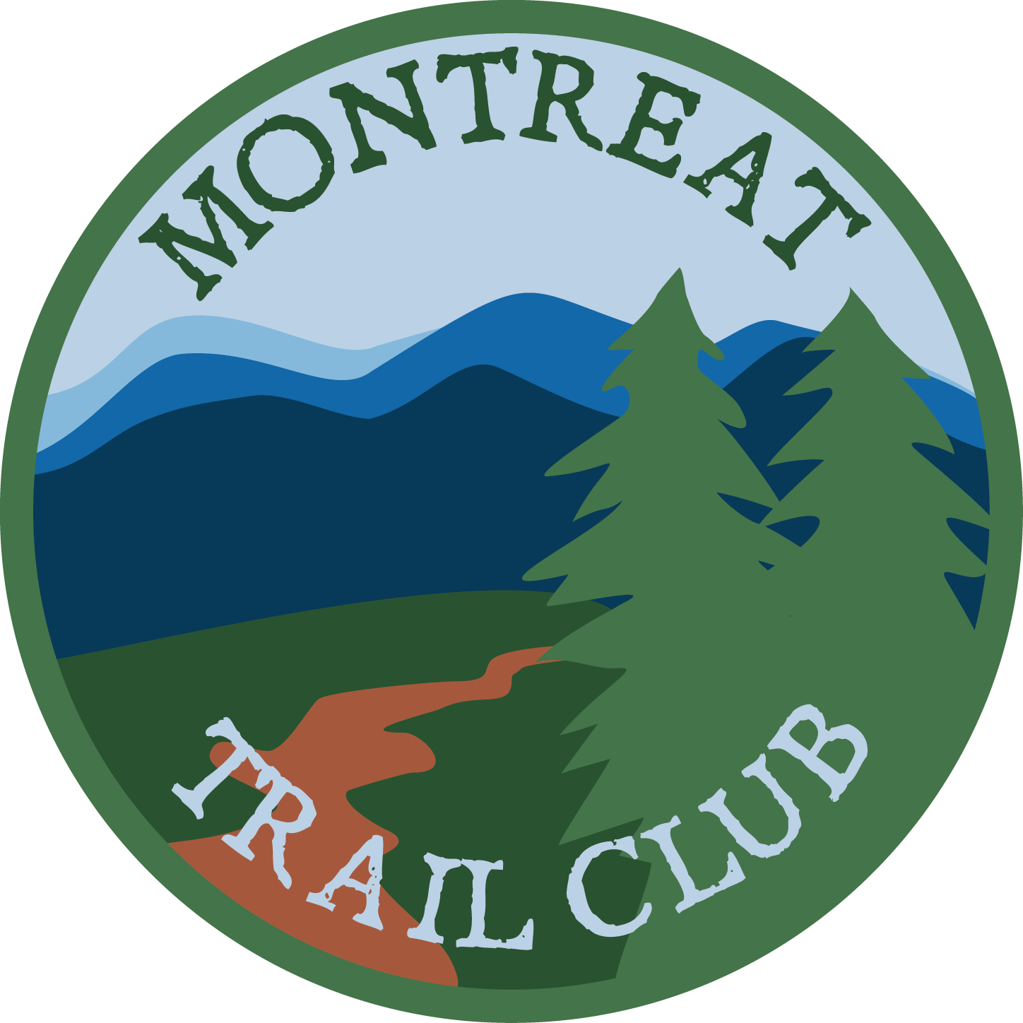 The wanderer news montreat. Hike clipart wandered