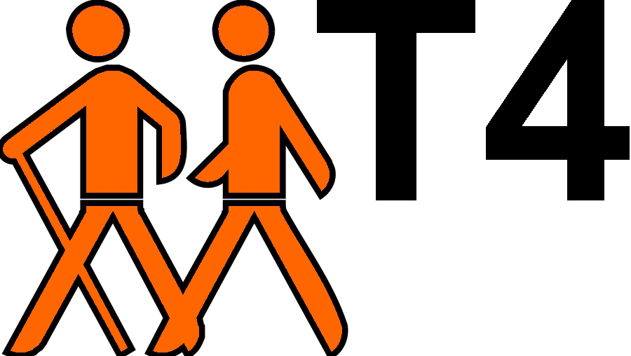 File hiking sign t. Hike clipart wandered