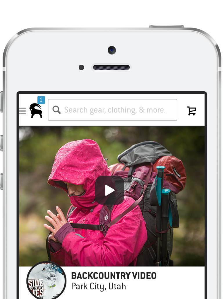Hike clipart winter. Backcountry app available on