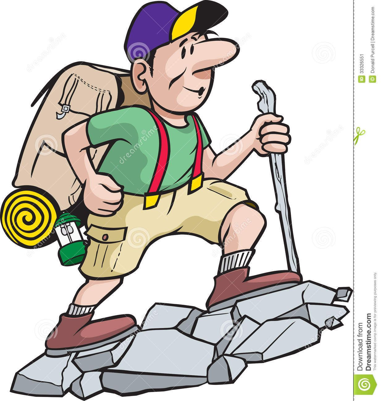 Image result for mountain. Hiker clipart