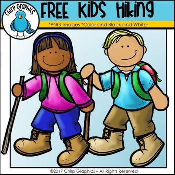 Hiker clipart. Free kids hiking clip