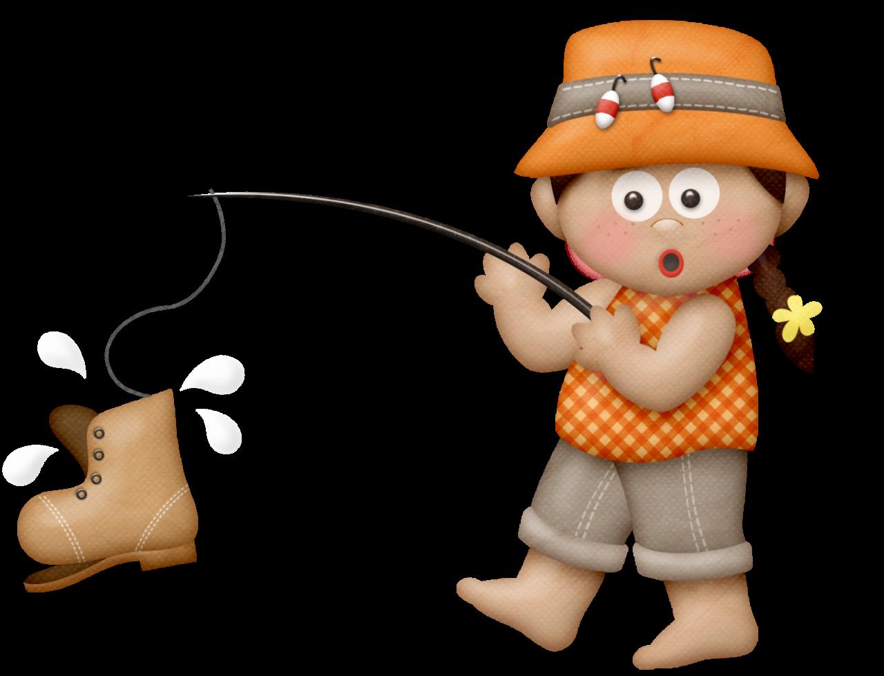 Hiker clipart adventurous girl. Lliella fishingadv fishinggirl d