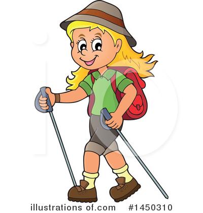 Hiking illustration by djart. Hiker clipart bushwalk