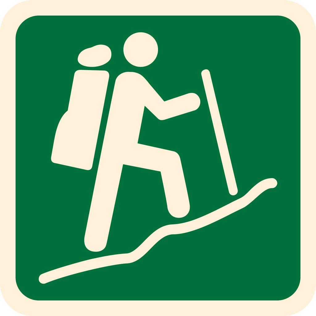 Hiker clipart bushwalk. Australian walking track grading