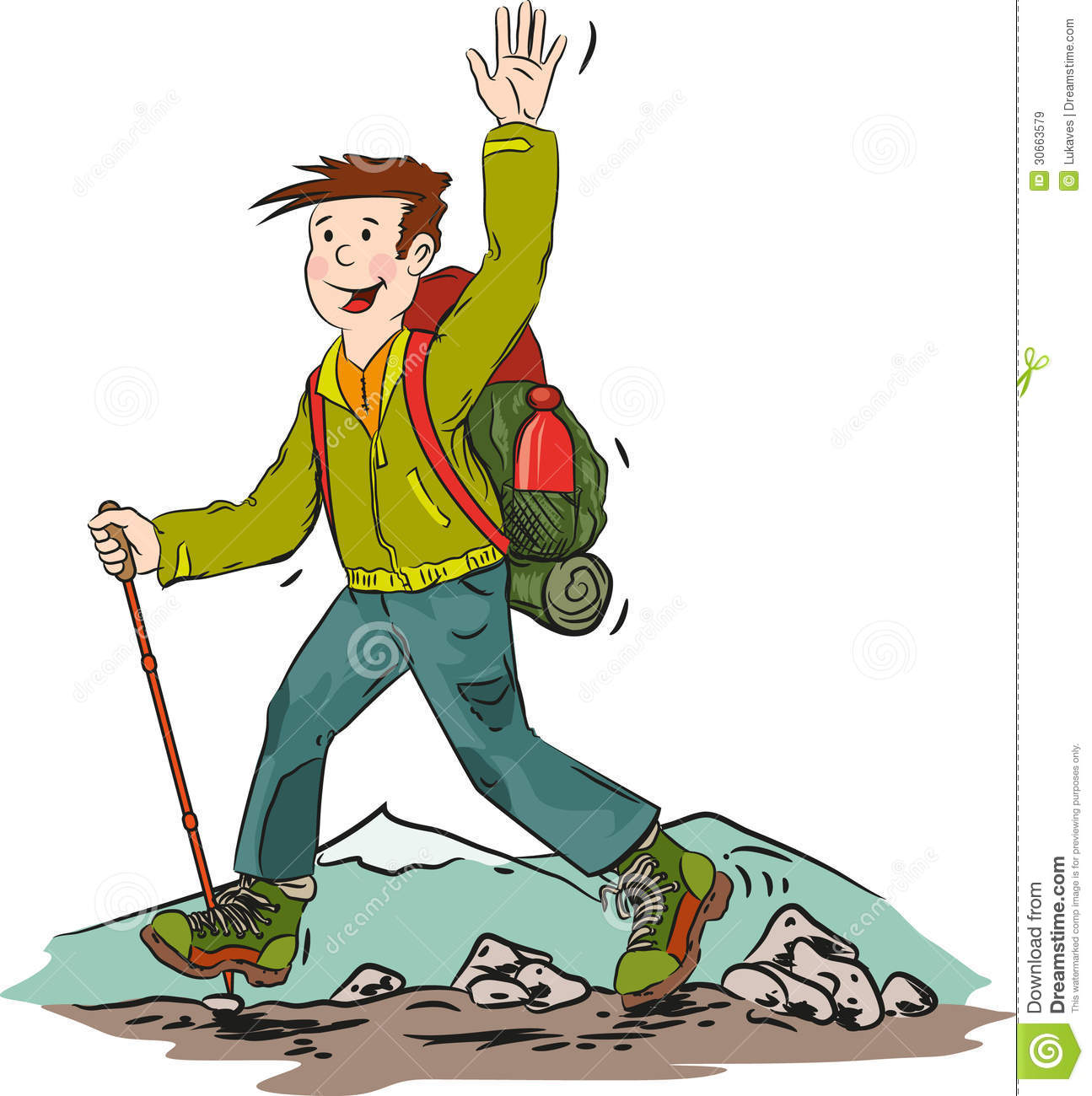 Hike cliparts free download. Hiker clipart mountain man