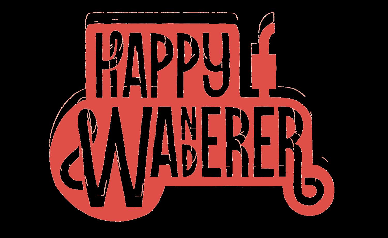 Blog happy wanderer festival. Hiking clipart wandered