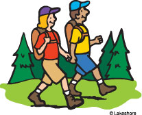 Hiking clipart. Free pictures clipartix