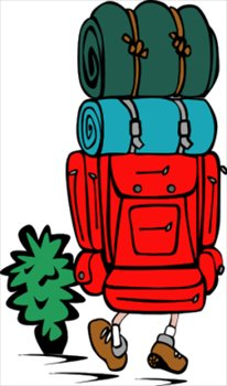 Free backpacking cliparts download. Hiking clipart backpacker