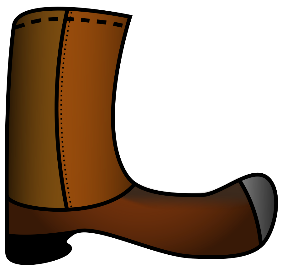 Wet clipart puddle. Boots cartoon
