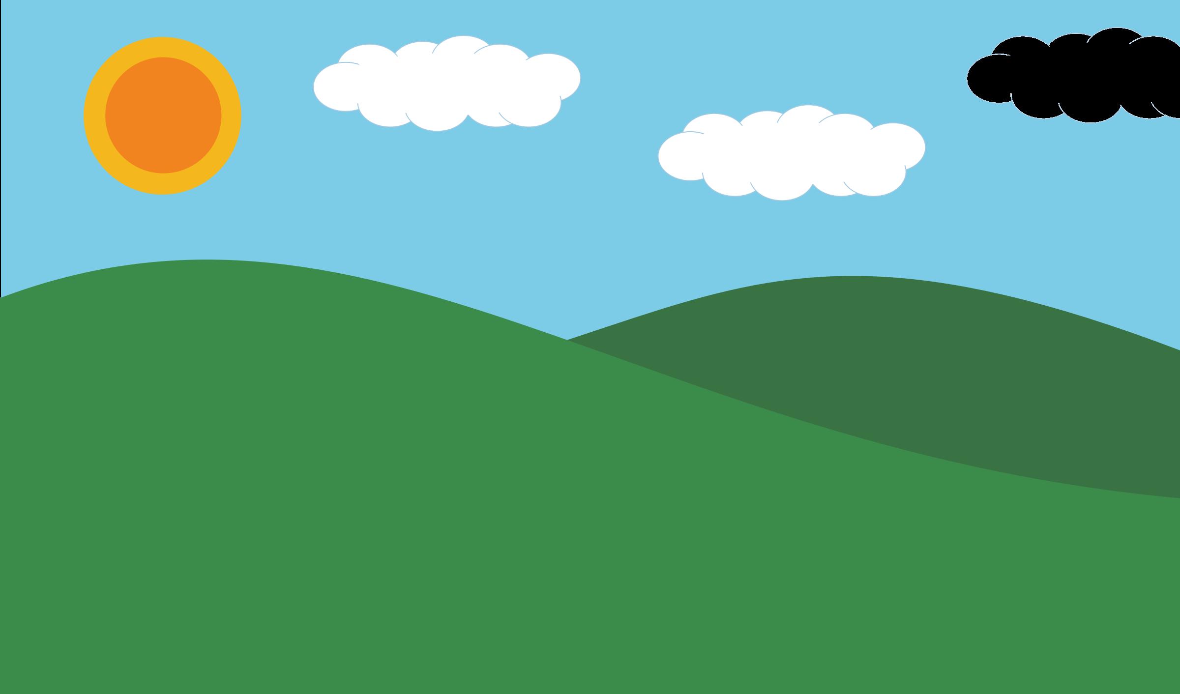 Hill free cartoon cliparts. Hills clipart