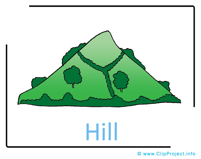 Free . Hill clipart