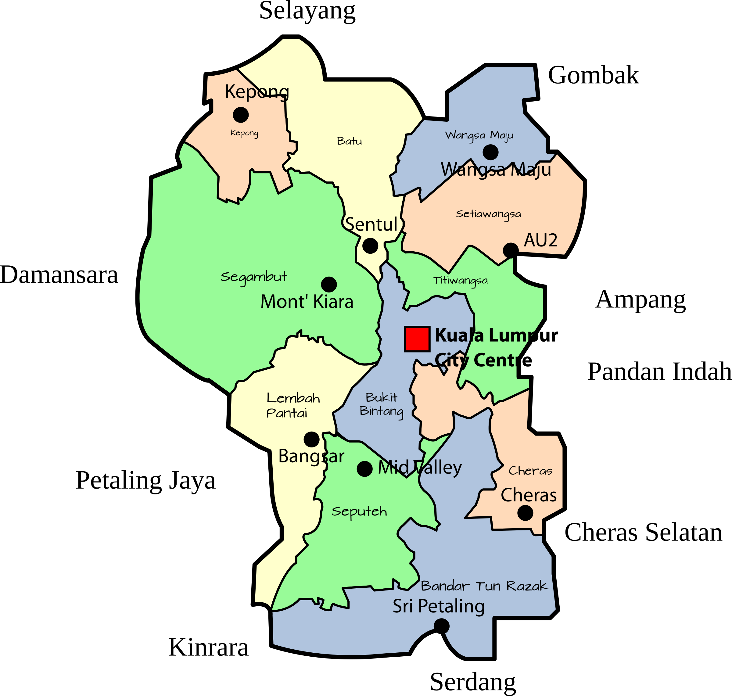 Hill clipart bukit. Parliamentary map of the