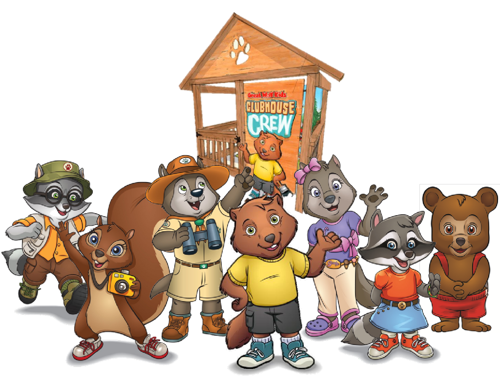 Great wolf lodge clubhouse. Hill clipart go tell it on mountain