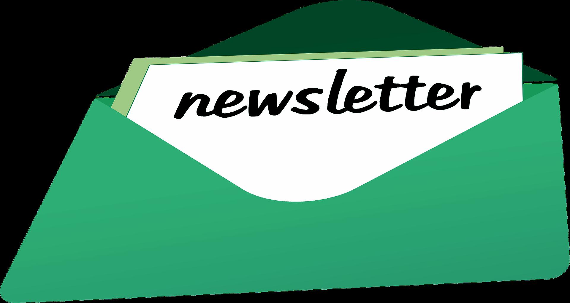 website clipart newsletter