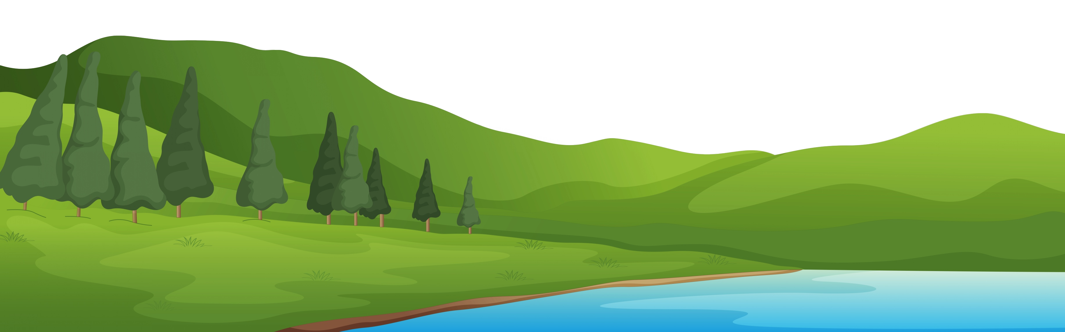 Hill clipart green nature. Reducing our carbon footprint
