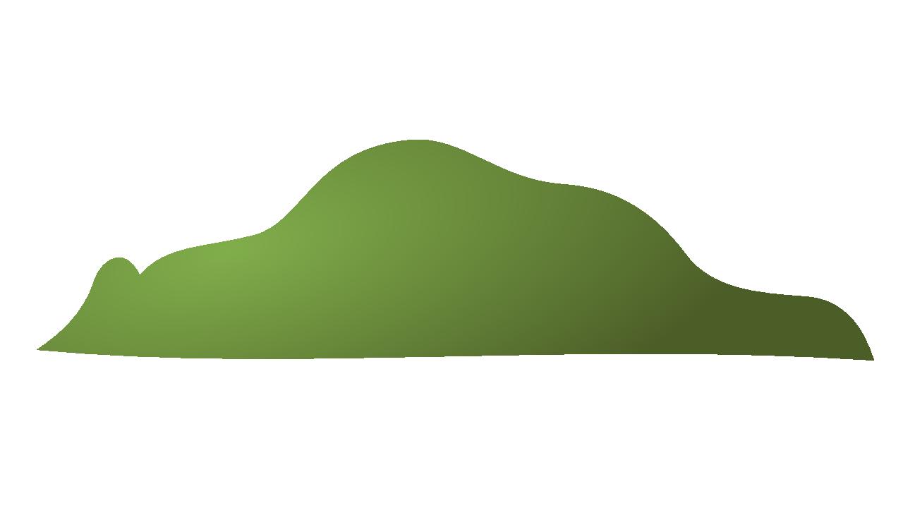 Clip art . Hill clipart green valley