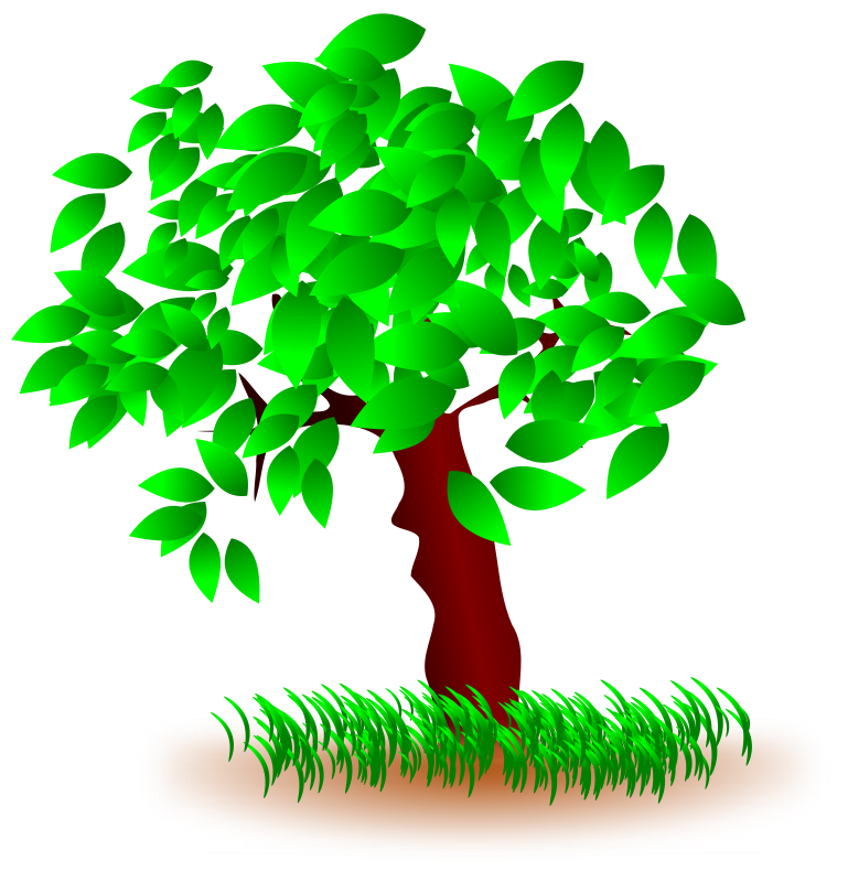 Top of grave on. Hill clipart hill tree