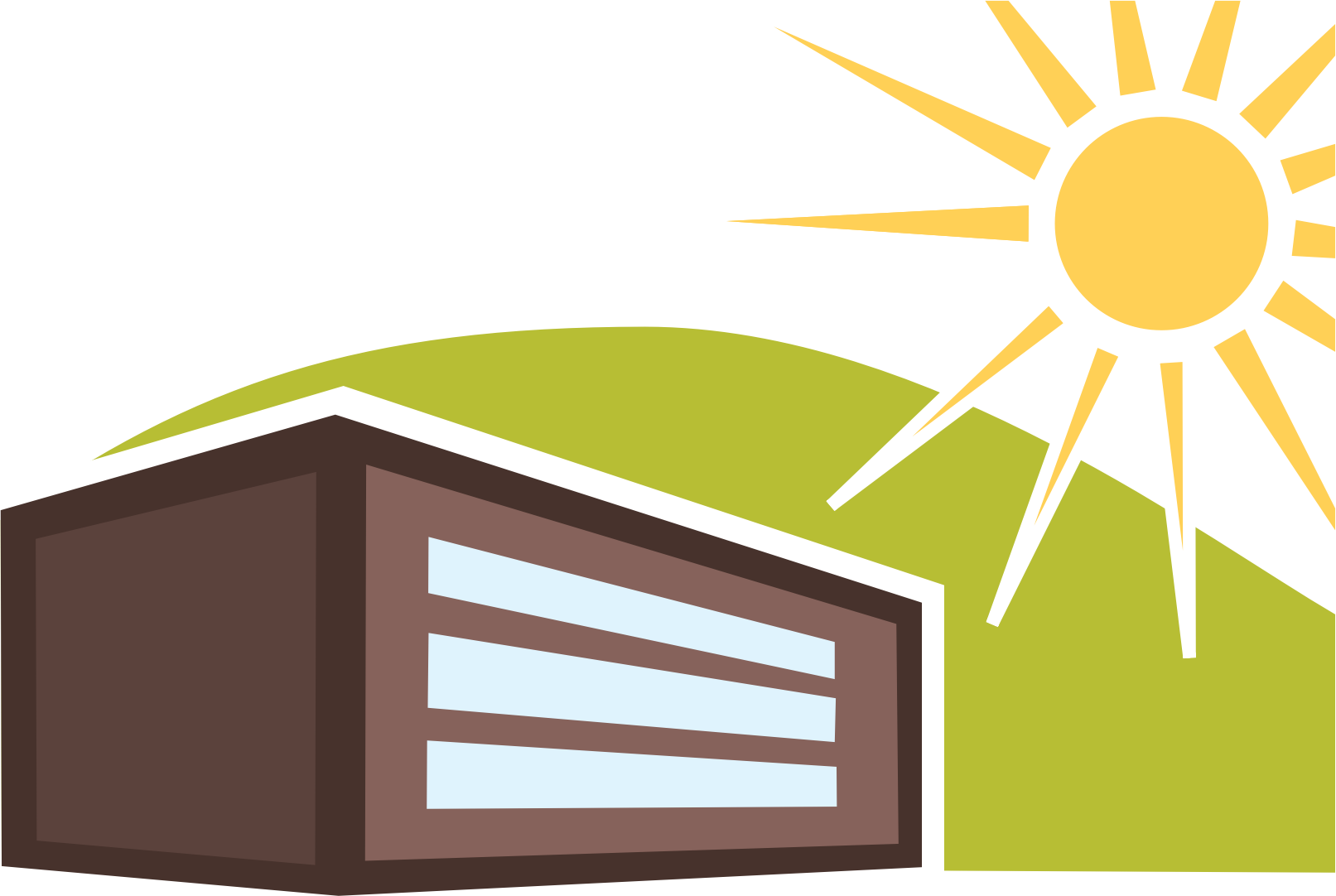 House big image png. Sunny clipart woman