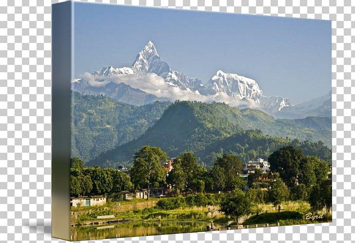 Machapuchare pokhara annapurna iii. Hill clipart himalayan mountains