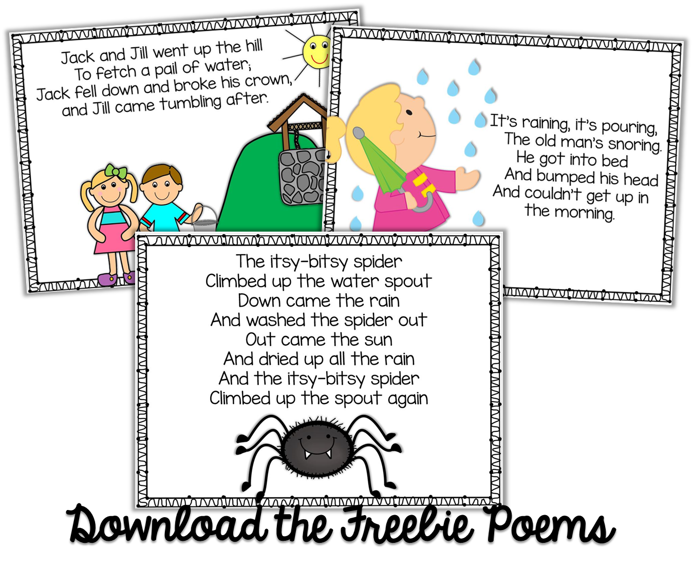 Humpty dumpty clipart poem. Freebie kindergarten weekly poems