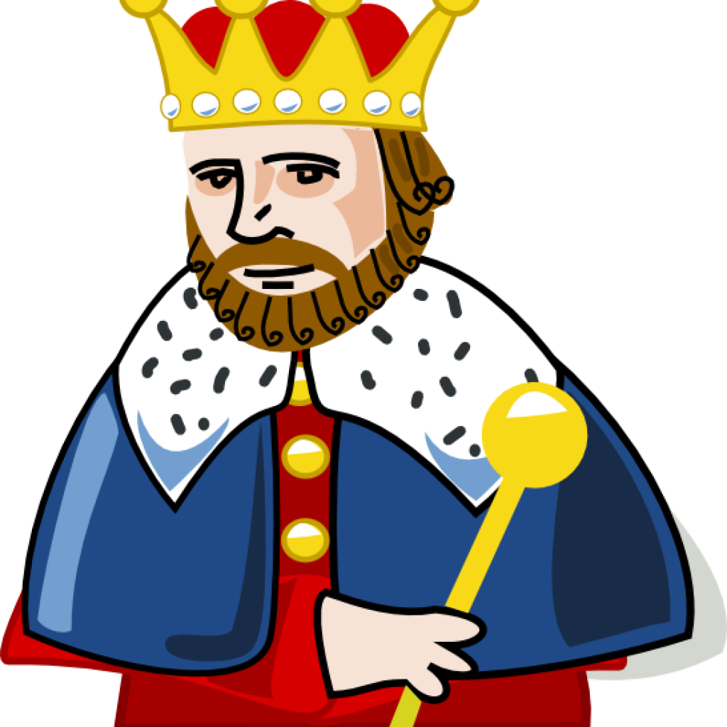 Of the hill at. King clipart angry