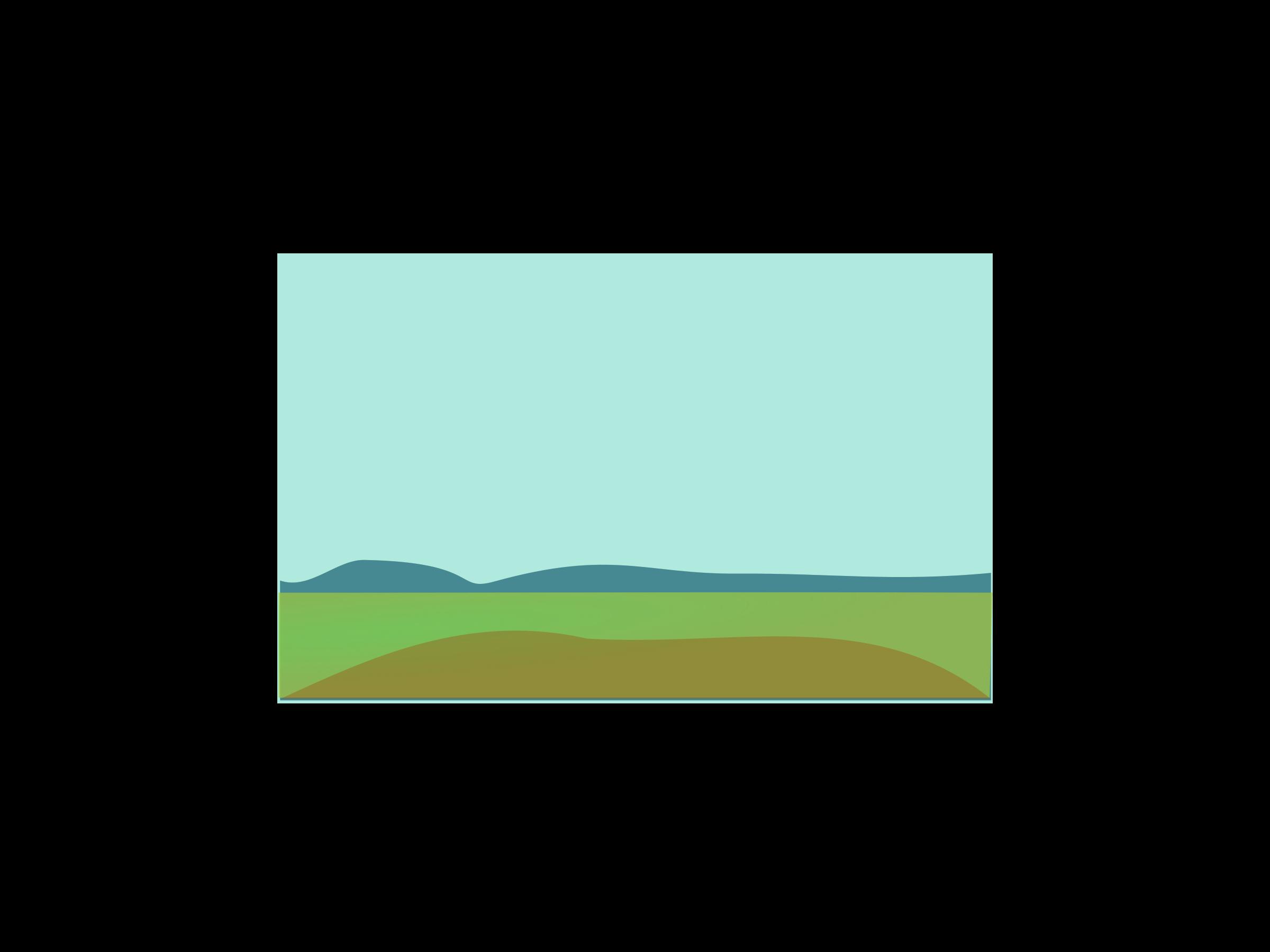 Big image png. Hills clipart plain landscape