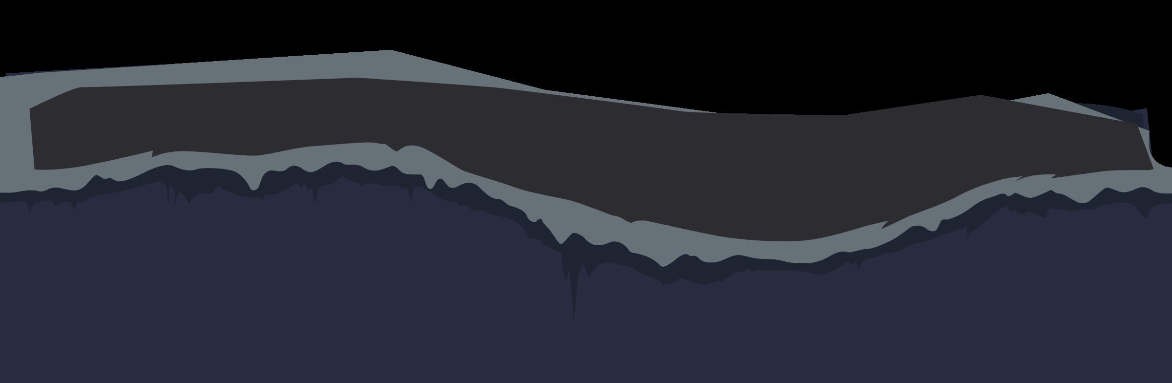 Hills clipart mountain slope. Ilmenskie cave gr edge