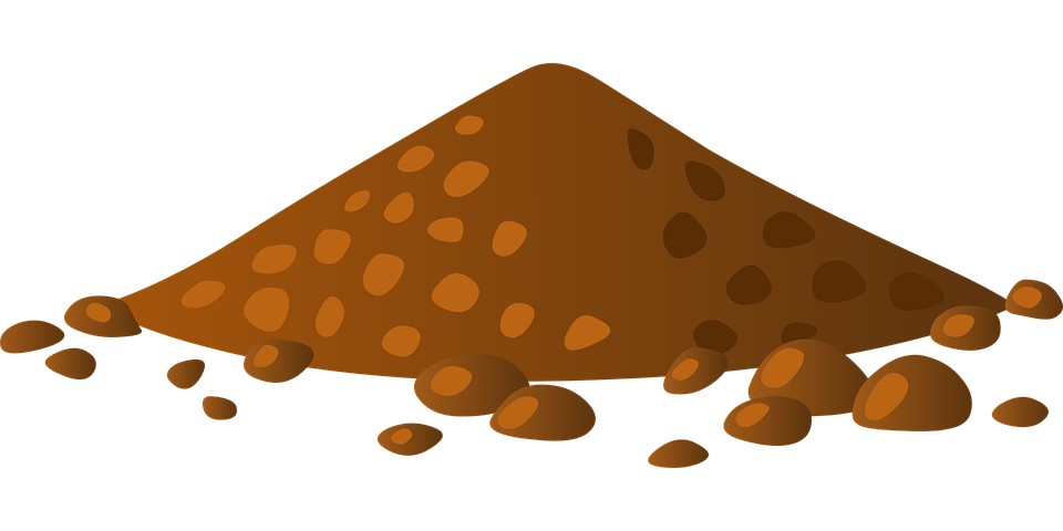 Mud brown free on. Hill clipart over hill