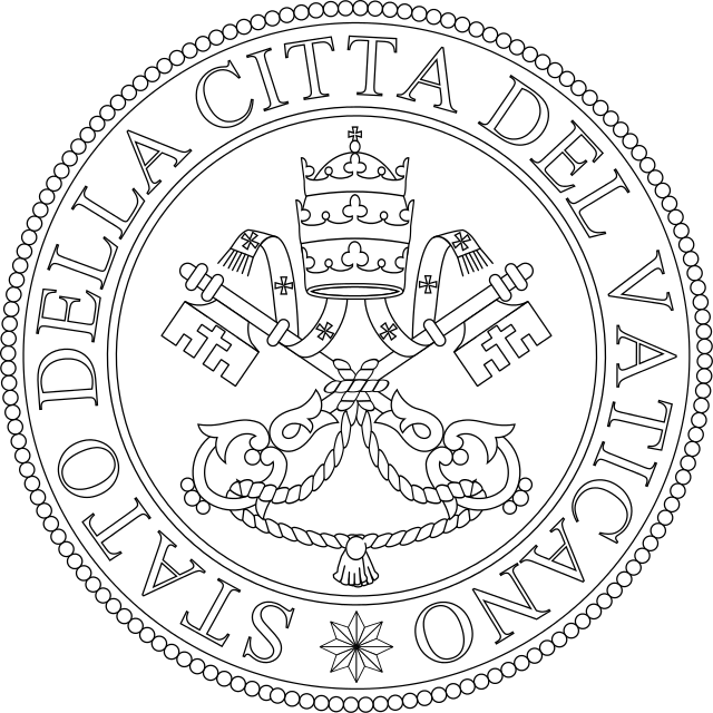 Hill clipart romes. The seal of vatican