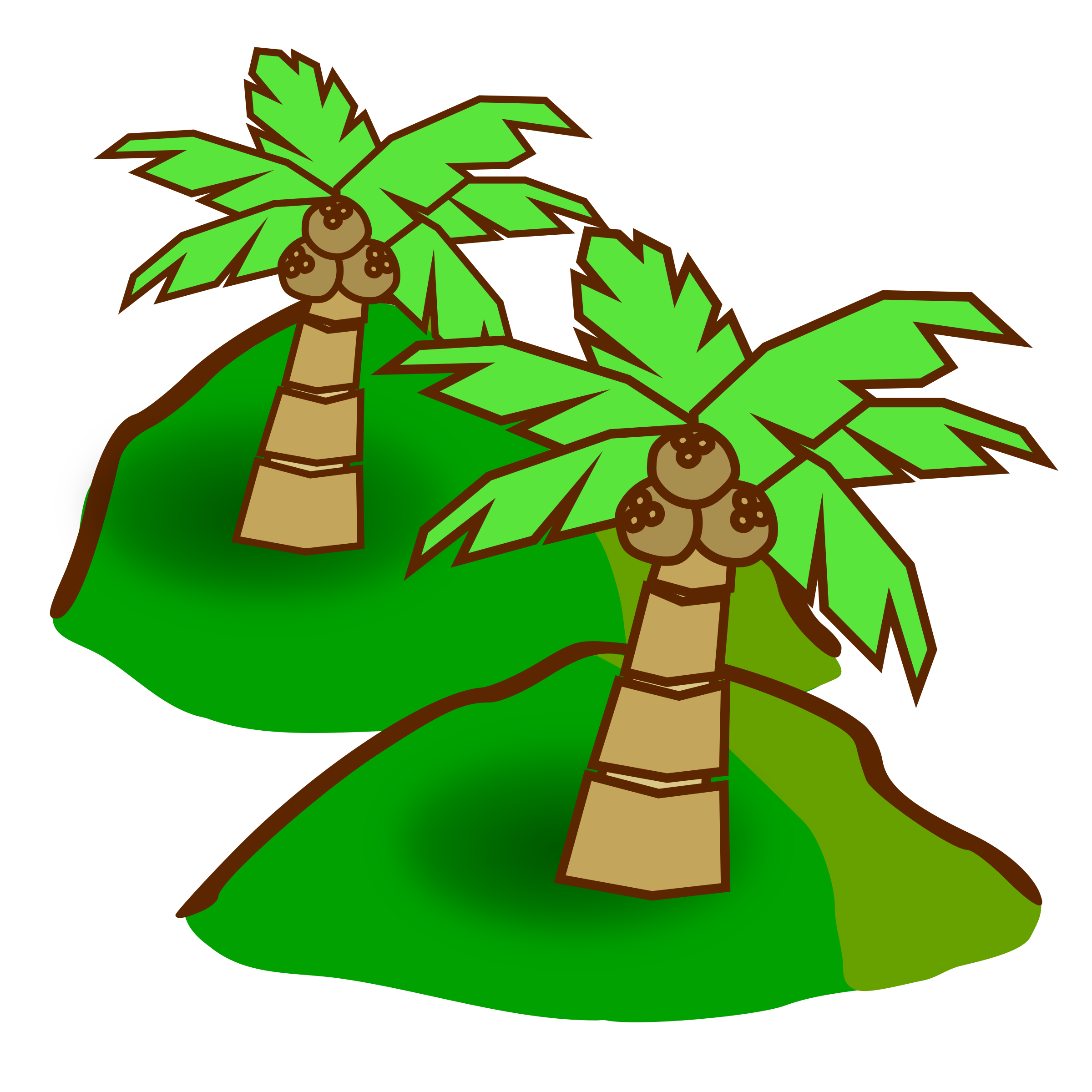 Jungle big image png. Hills clipart transparent