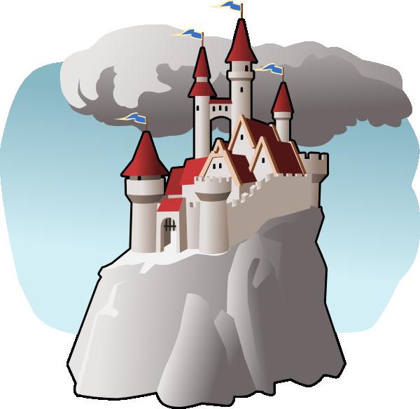 Fairy castle clip art. Hill clipart small hill