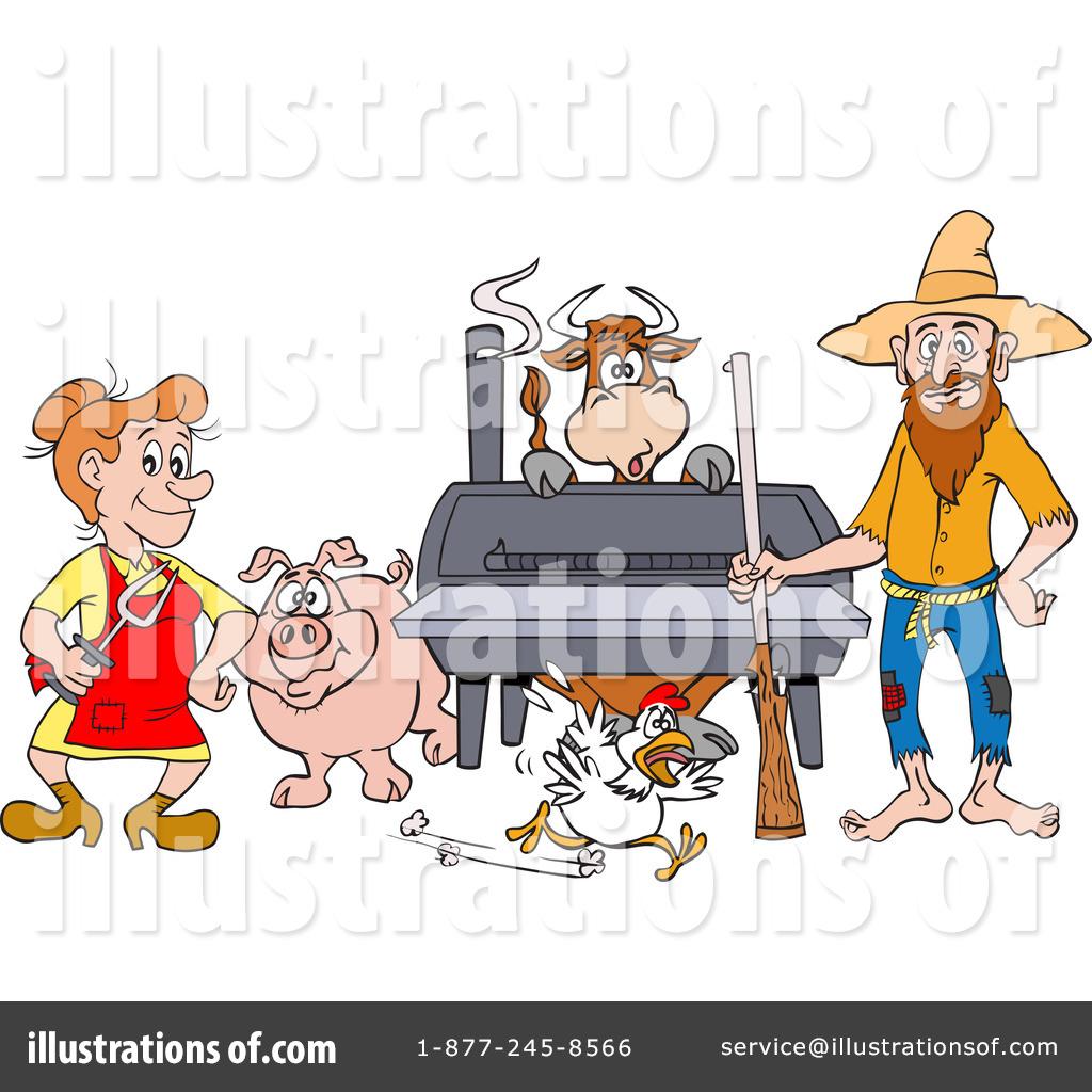 Hillbilly clipart. Illustration by lafftoon royaltyfree