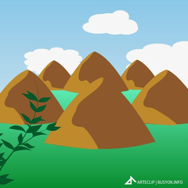 Hills clipart. Chocolate black and white