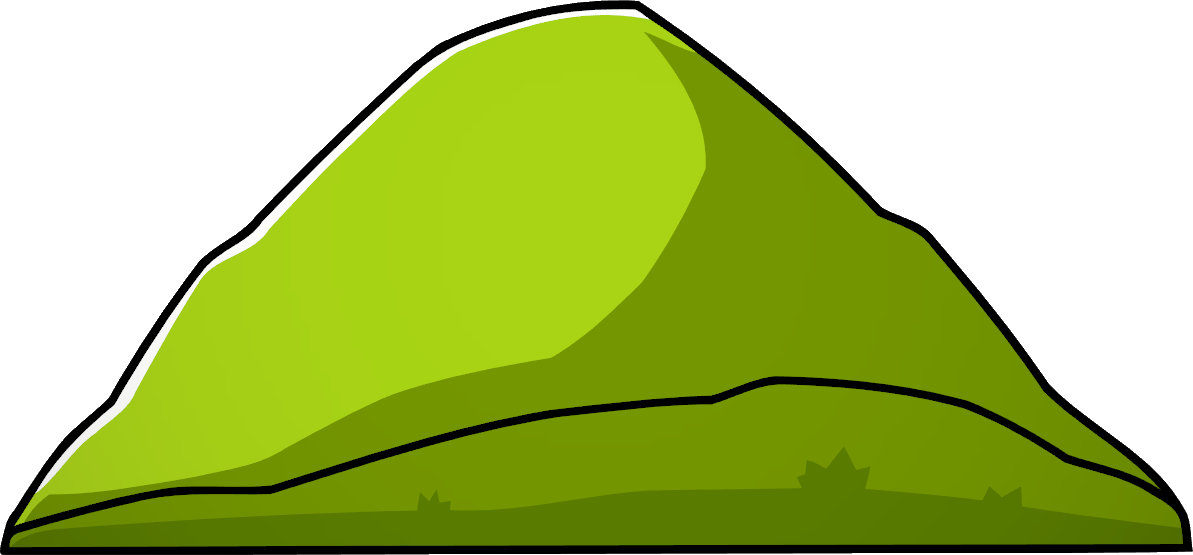 Hills clipart chocolate hills. Scribblenauts unlimited hill wikia