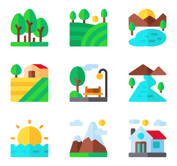 Hills clipart hill top. Icons free vector landscapes