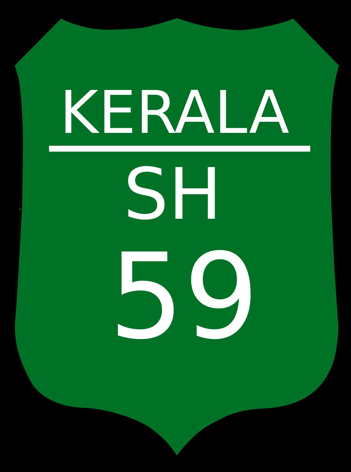Hill highway kerala wikipedia. Location clipart road network