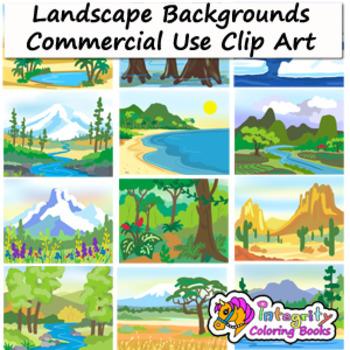 Biomes landscape backgrounds clip. Hills clipart mountain habitat