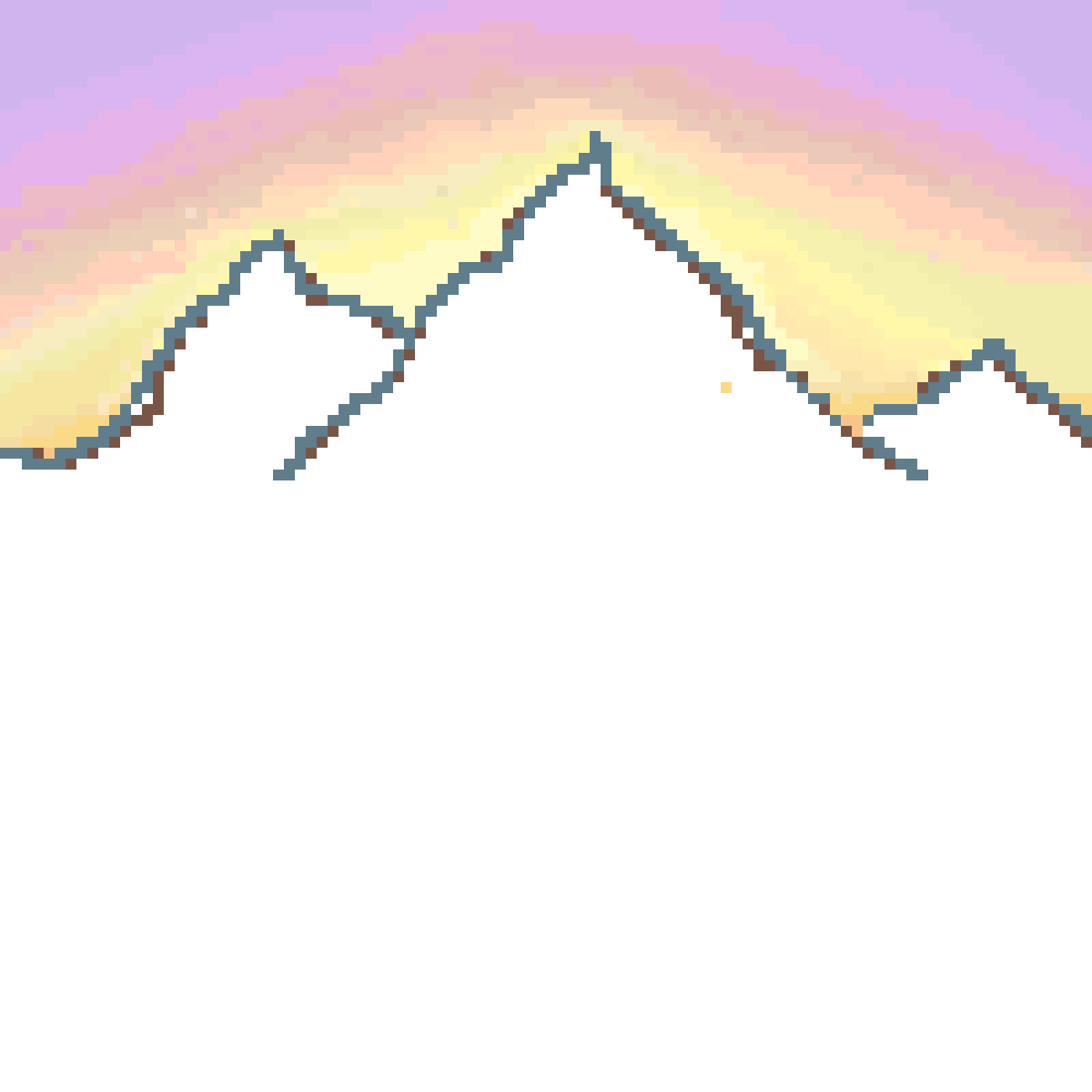 Hills clipart mountain range. Pixilart unfinished by whalecats