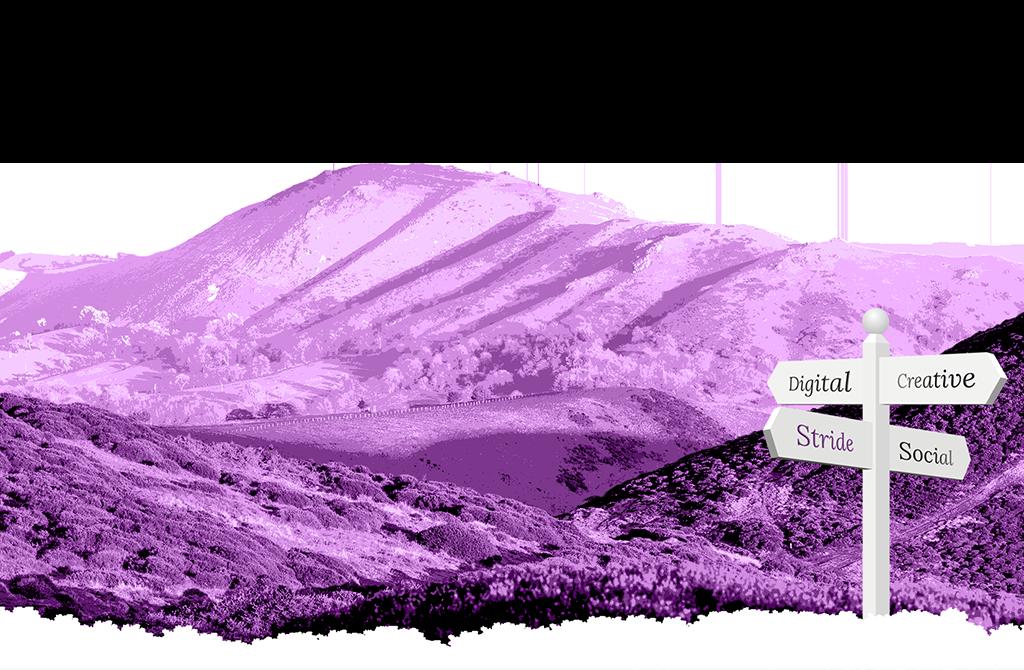 Digital marketing agency shropshire. Hills clipart purple mountain