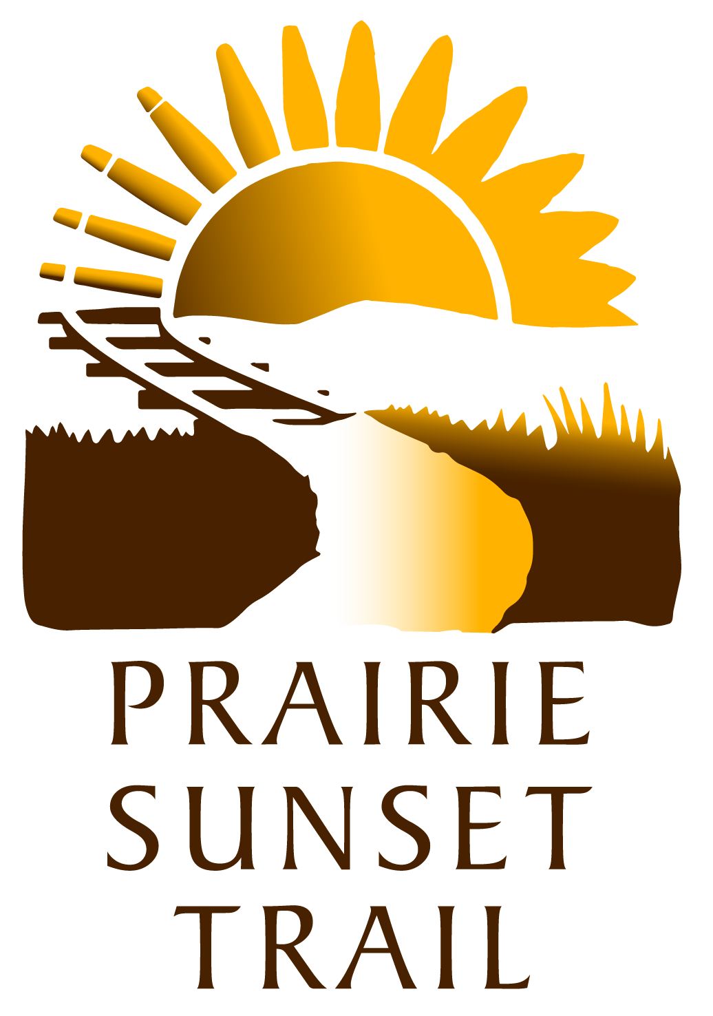 About the trail prairie. Sunset clipart road sunset
